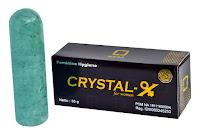 crystal x untuk mengatasi masalah keputihan