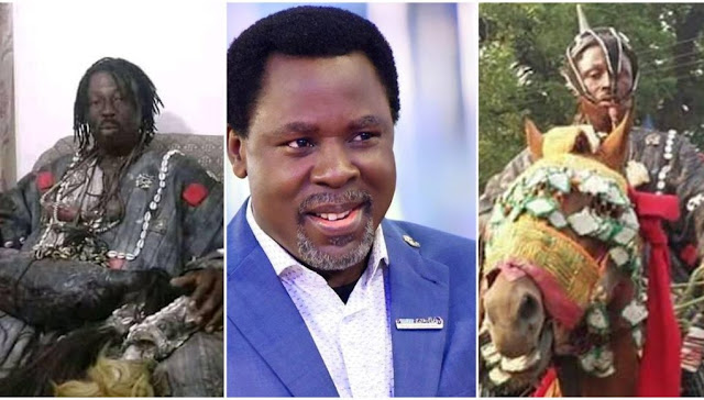 TB Joshua attacked me spiritually but I defeated him – Ghanaian Traditionalist reveals (Video)