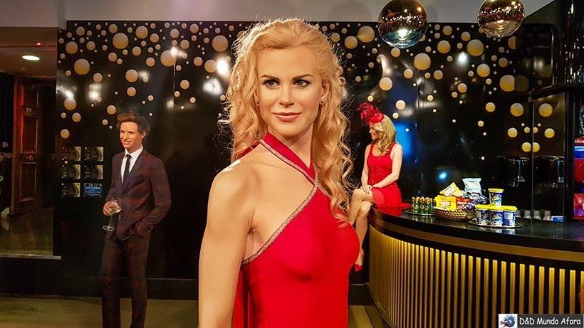 Nicole Kidman - Madame Tussauds: Como visitar o museu de cera de Londres