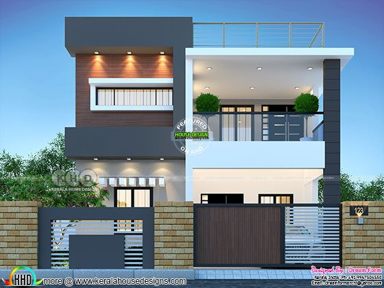 4 bedrooms 2250 sq. ft. modern home design
