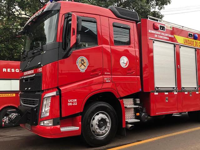 volvo, fh, 460, viatura, dos bombeiros, cabine estendida, alongada, corpo dos bombeiros, um milhão, 1, flogão elite, flogão, elite, caminhão, carreta