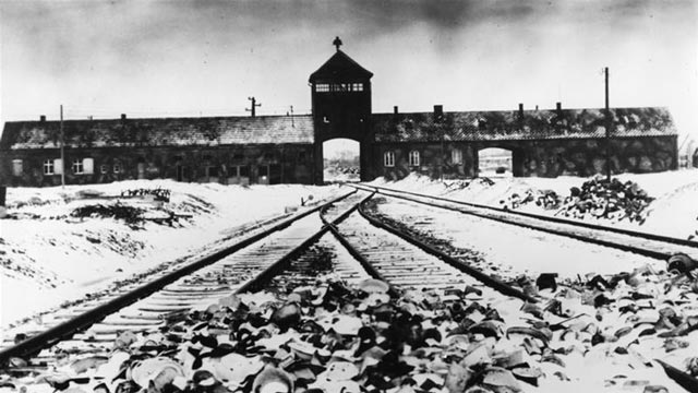 Auschwitz concentration camp worldwartwo.filminspector.com
