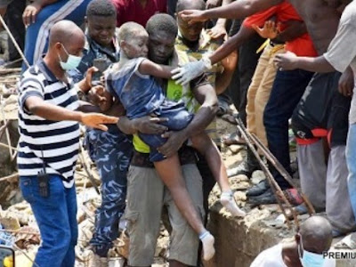 SAD: Woman Commits Suicide After Losing Two Children In Lagos Building Collapse