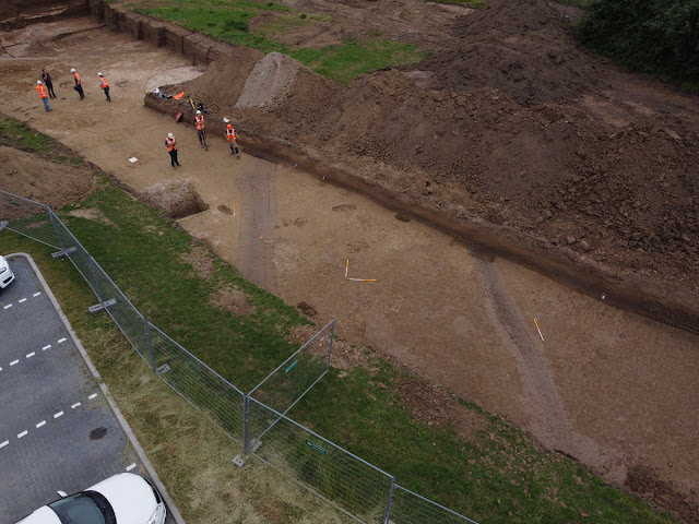 Dutch unearth Roman canal, road near UNESCO heritage sites