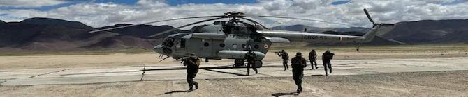 Nyoma Advanced Landing Ground In Ladakh Remains Busy Post India-China Military Disengagement
