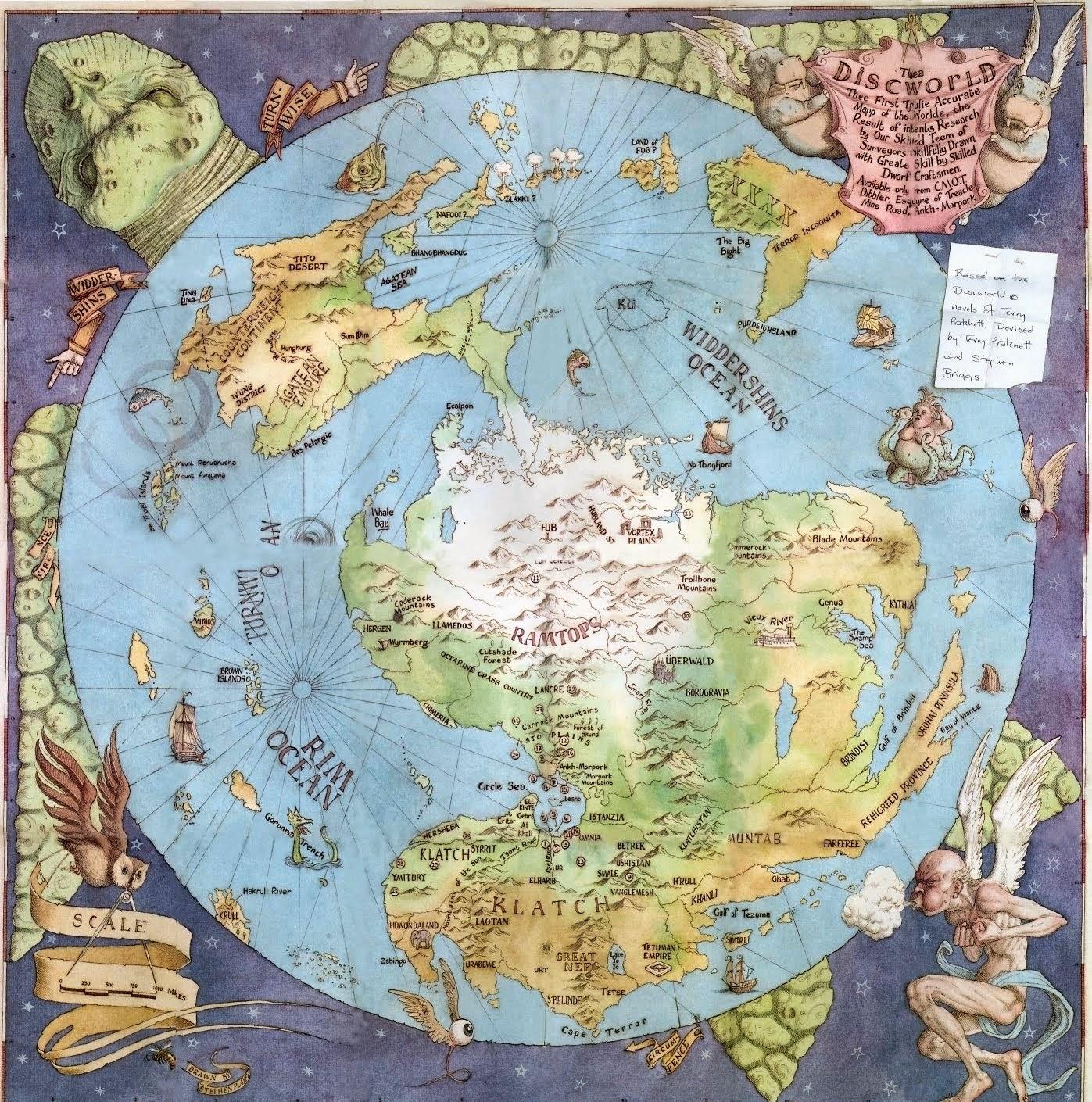 Mapa de Mundodisco