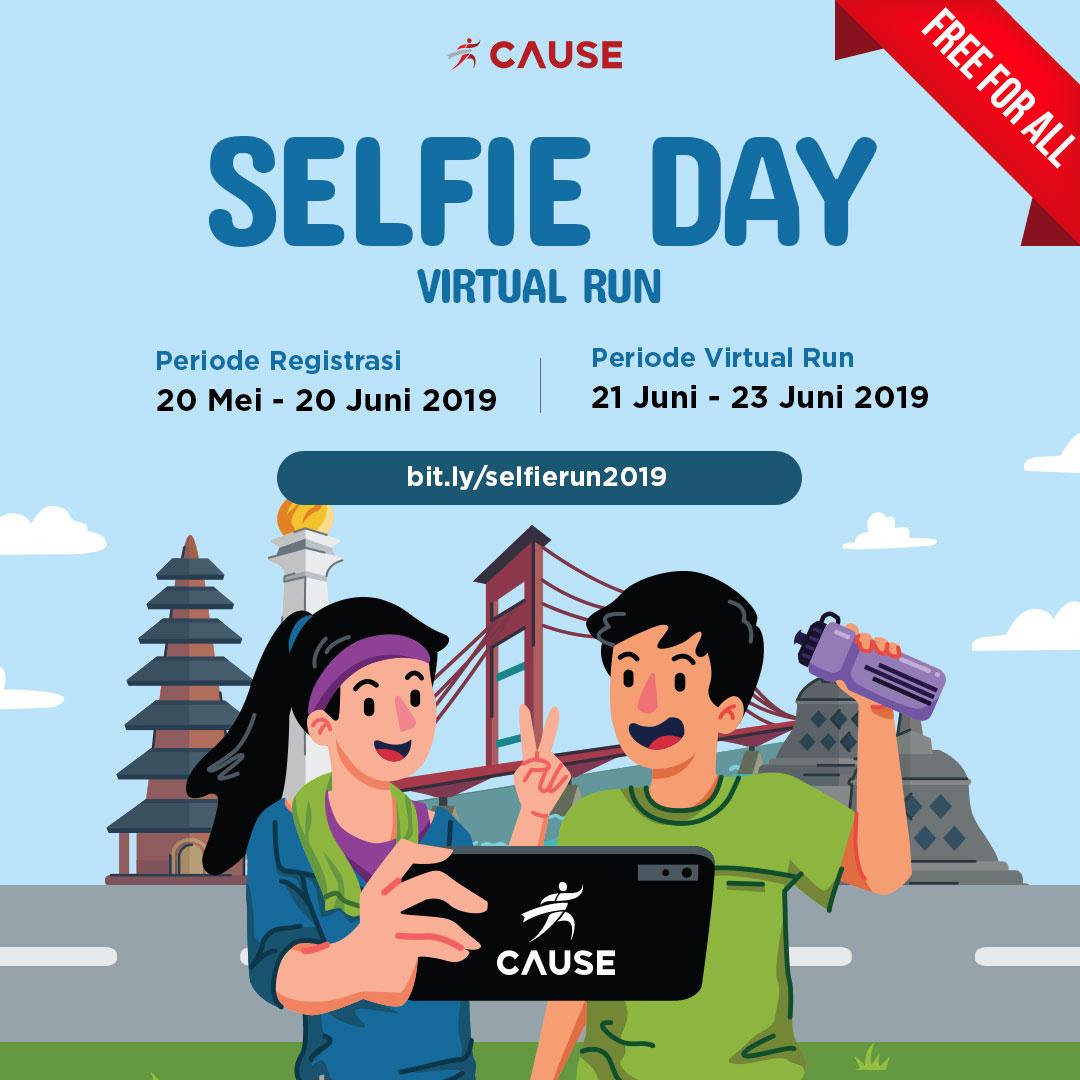 Selfie Day Virtual Run • 2019