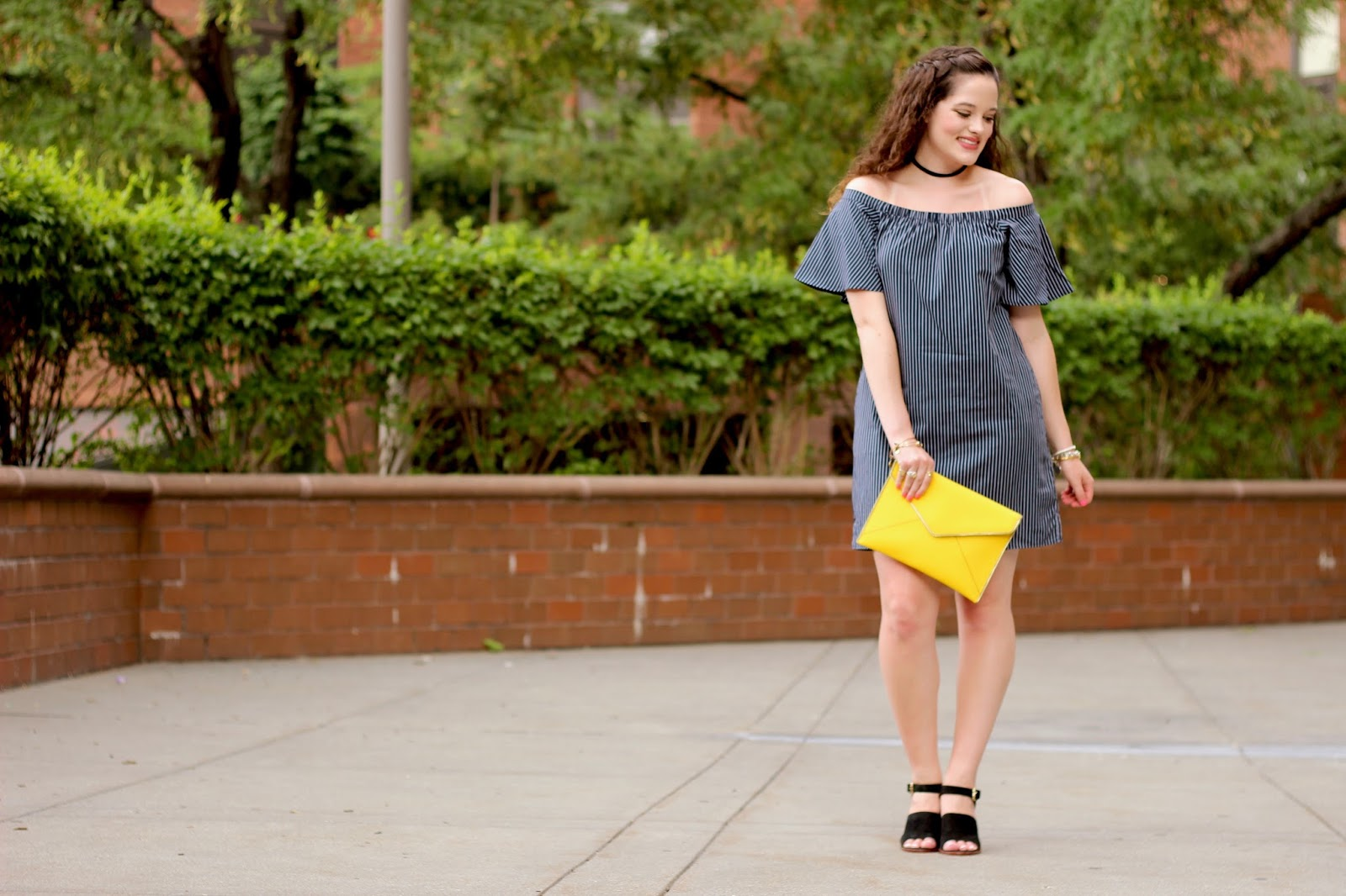 off the shoulder trend dress