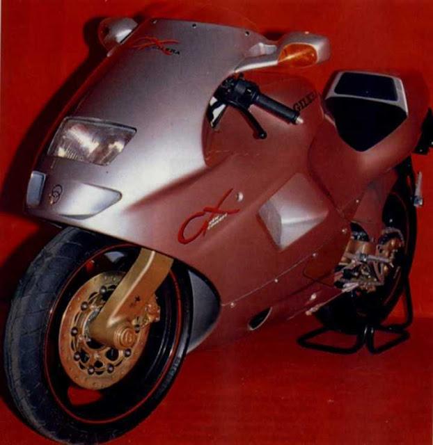 Gilera CX125 Motorcycle Concept 1989