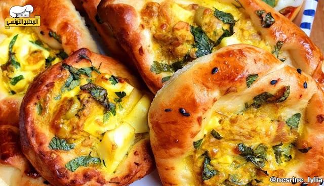 فطائر العجينة السحرية - المطبخ التونسي
