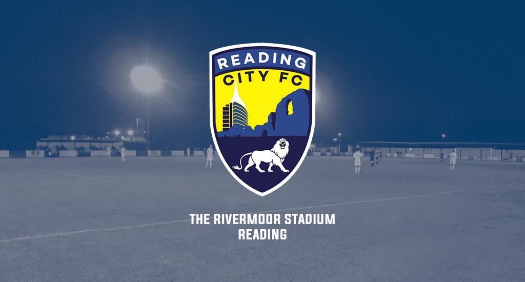 The Rivermoor Stadium and Reading City FC logo