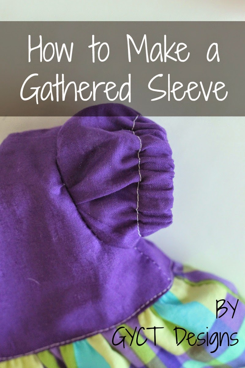 How to make and sew a gathered puff sleeve