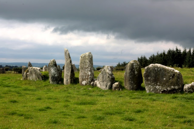 Bealtany Stones in a row