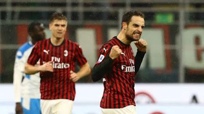 Video Cuplikan Gol: AC MIlan 1-1 Napoli (Serie A)