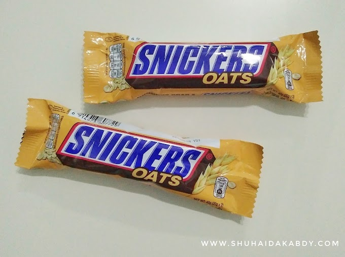 Snickers Oats Baru