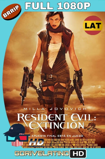 Resident Evil 3: Extinción (2007) BRRip 1080p Latino-Ingles MKV