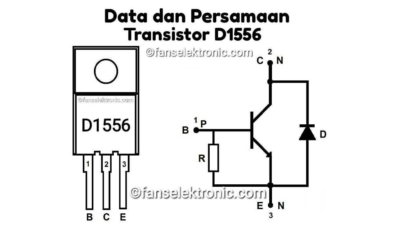 Persamaan Transistor D1556