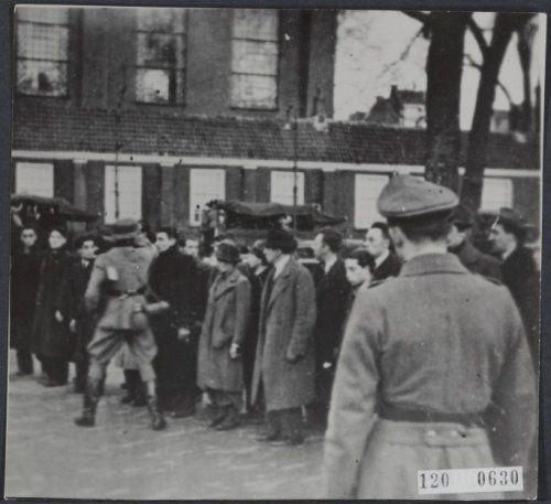 22 February 1941 worldwartwo.filminspector.com Amsterdam pogrom