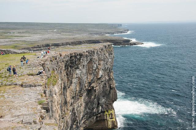 Islas Aran acantilados Inishmore Condado Galway Irlanda