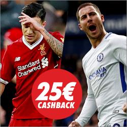 circus promocion 25 euros Liverpool vs Chelsea 25 noviembre