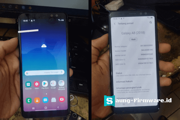 Remove FRP Samsung A8 (2018) SM-A530F Android 9.0 Last Security