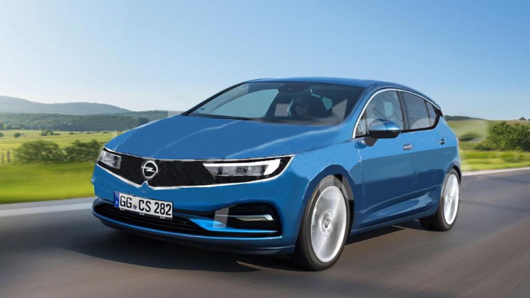 Nouvelle Opel Astra 2021 - Car Wallpaper