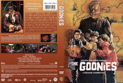 Carátula dvd: Los Goonies (1985)