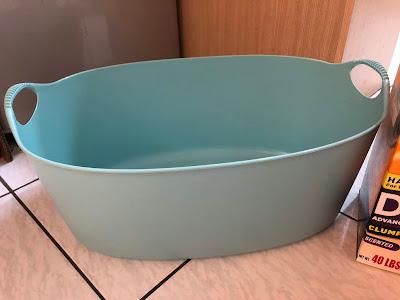 Ikea 洗衣籃貓砂盆