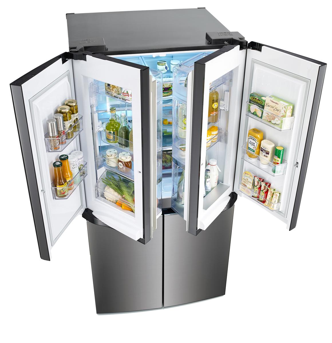 LG Inverter Dual Door-in-Door refrigerator