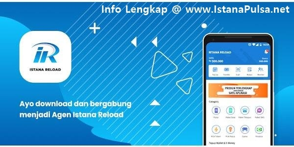 Mari Bisnis Jualan Pulsa Elektrik Murah All Operator Bersama IstanaPulsa.net CV Cahaya Multi Sinergi