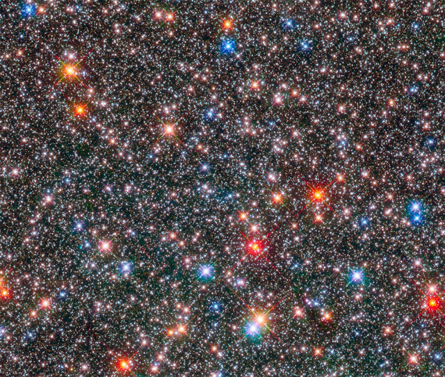 Hubble probes the archaeology of our Milky Way's ancient hub
