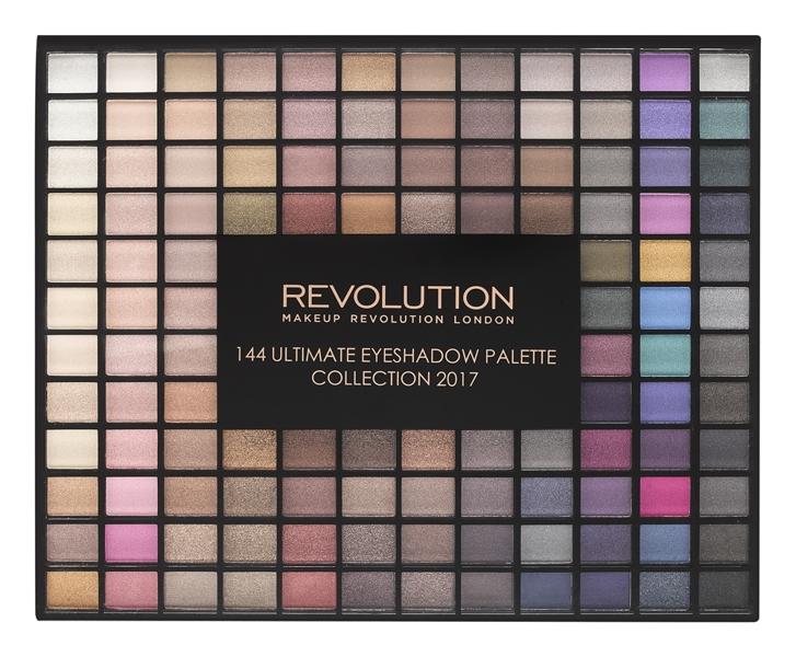 Makeup Revolution Ultimate Eyeshadows Paleta 144 cieni