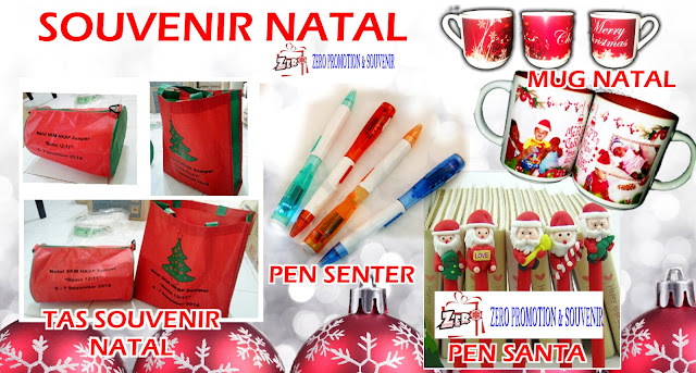 Ide Souvenir Natal | Christmas Souvenir