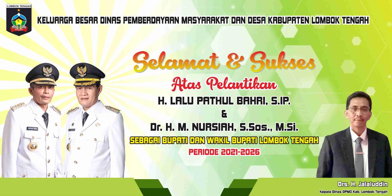 DPMD Lombok Tengah