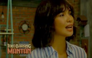 Marsha Timothy berperan sebagai Laras dalam Film Toko Barang Mantan