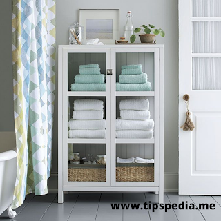 towel cabinet for small bathroom