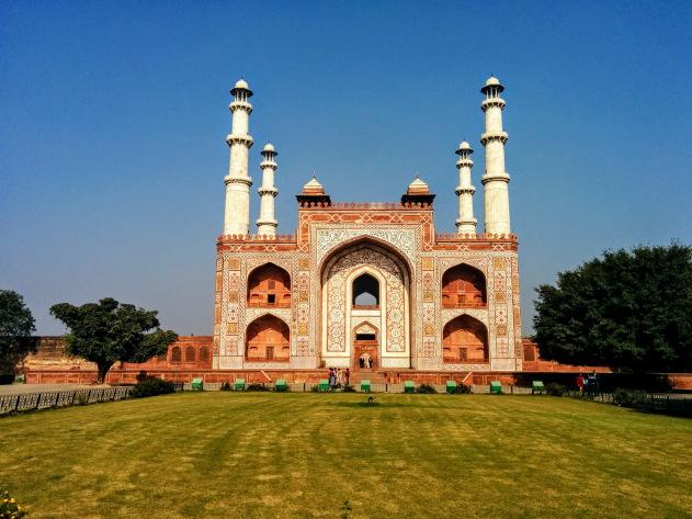 Akbar's Tomb, Sikandra, Agra