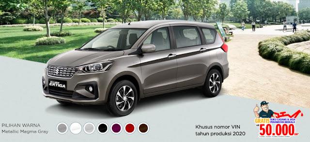 Review Kelebihan Mobil Suzuki Ertiga 2020