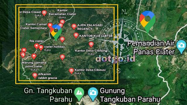 Kecamatan Ciater Subang, Kode Pos Desa dan Potensi Wisata Kecamatan Ciater Kabupaten Subang Jawa Barat