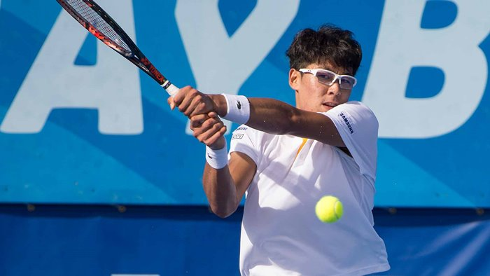 Chung Hyeon Asian Games 2018