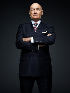 This looks like a Bad Guy if I ever saw one. (Shot from new ABC fall series 666 Park Avenue)