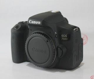 Kamera Bekas Canon Eos 750D WiFi ( Touch-Screen )