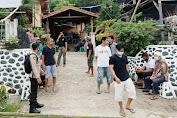 Kunjungi Warga, Sat Binmas Polres Enrekang Berikan Himbauan