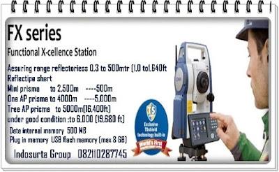 total station sokkia-  fx103-105. Produk PT INDOSURTA