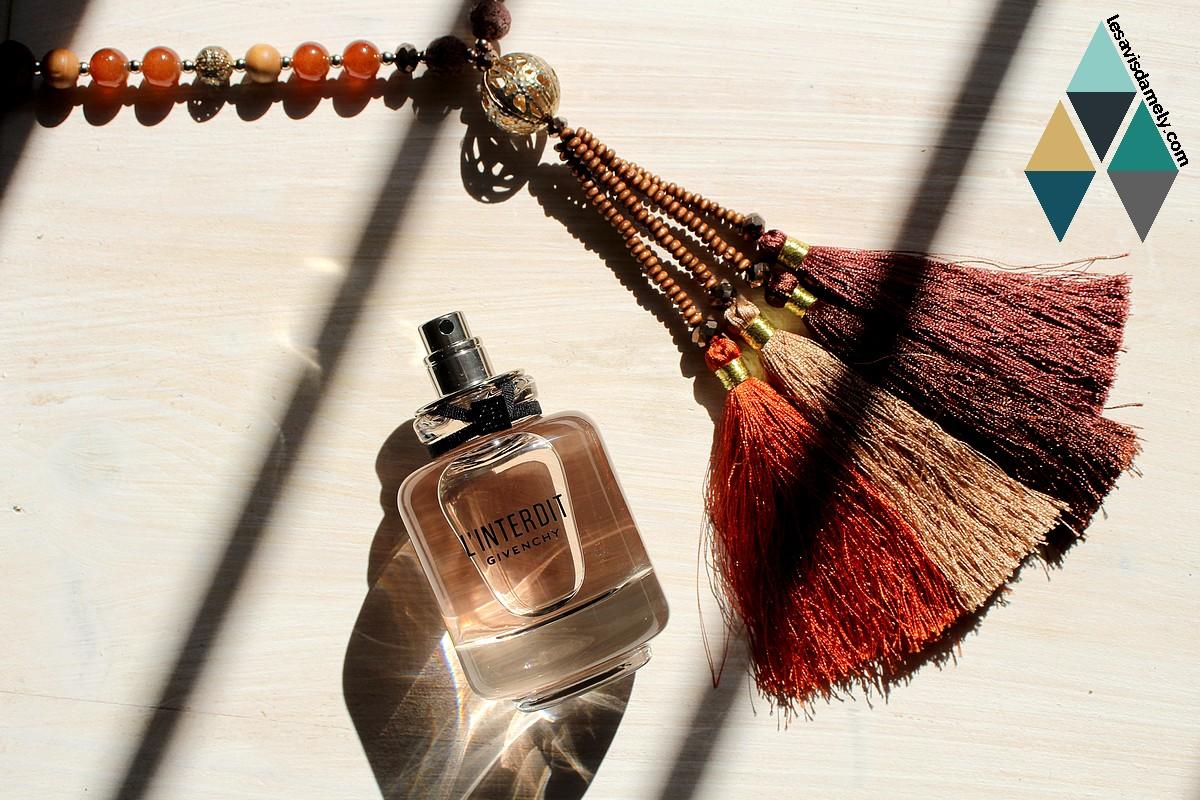 revue beauté la nouvelle eau de parfum l'interdit Givenchy