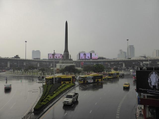 Victory Monument en Bangkok