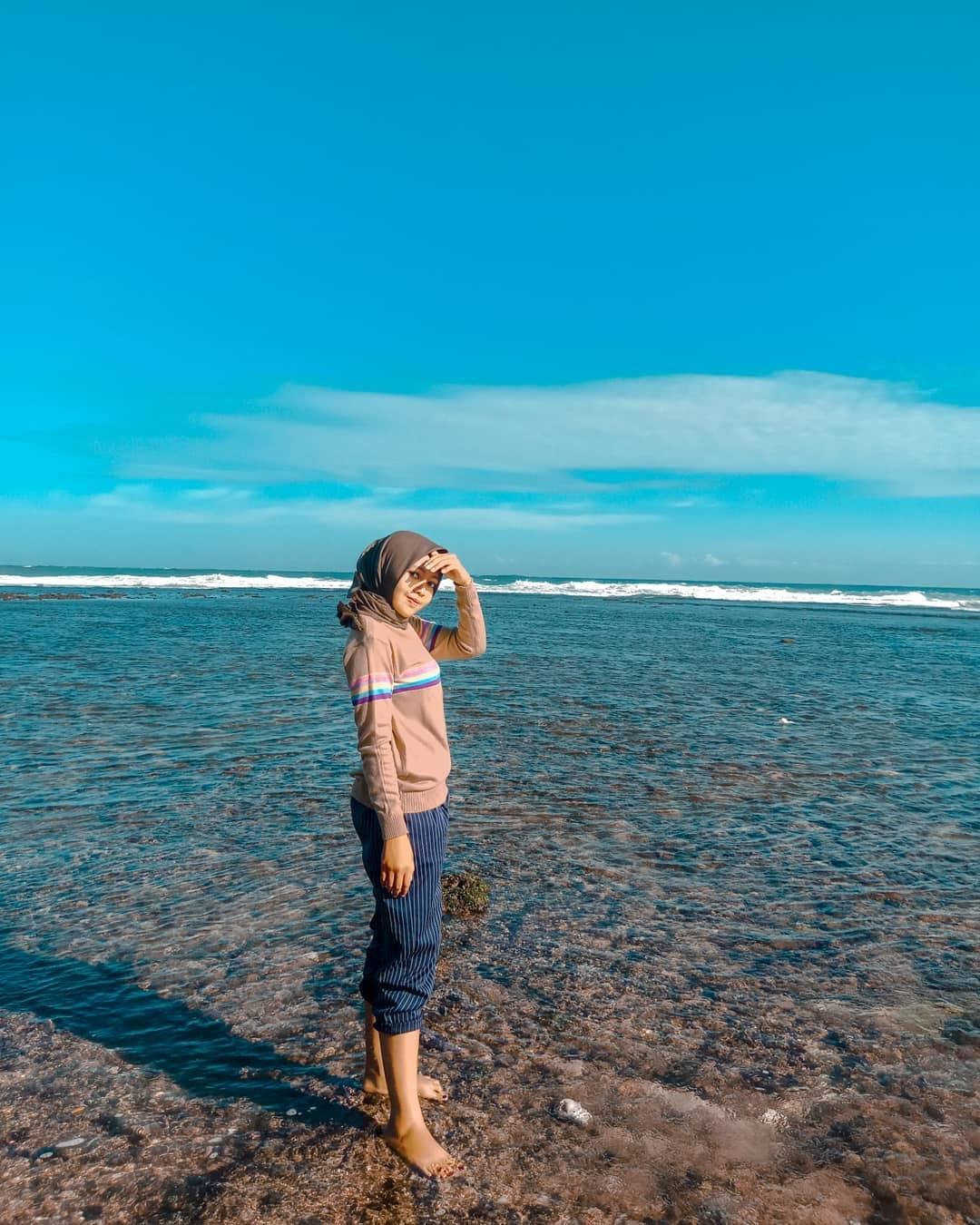 Spot Foto Pantai Slili Gunung Kidul