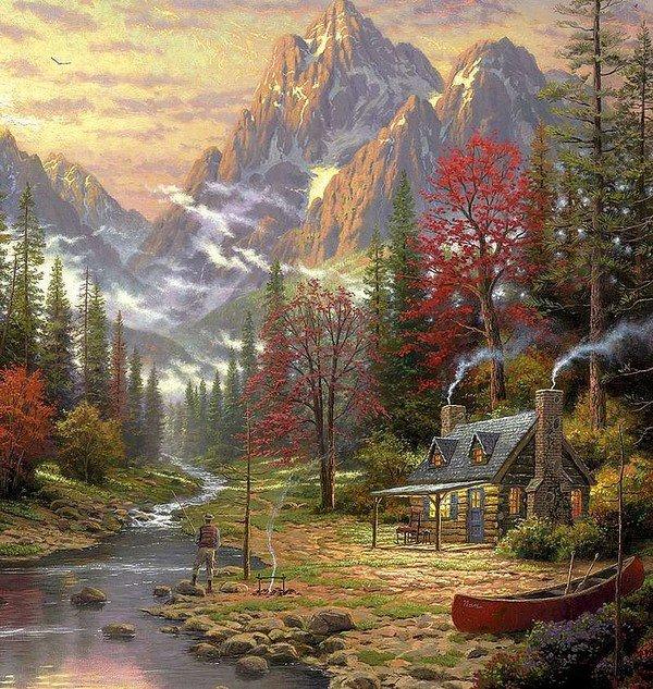 Fondos de pantalla de hermosos paisajes de cascadas - Los cuadros mas bonitos ...