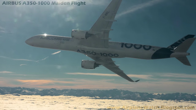 Airbus A350-1000 Maiden Flight on 24 November 2016