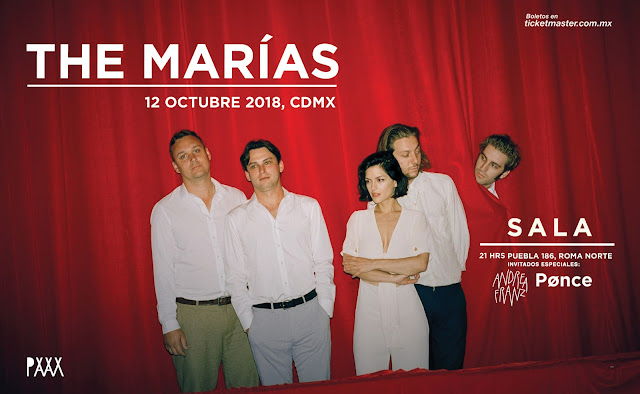 THE MARÍAS EN CDMX